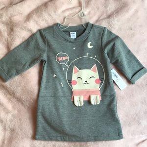 Old navy kitty sweater dress